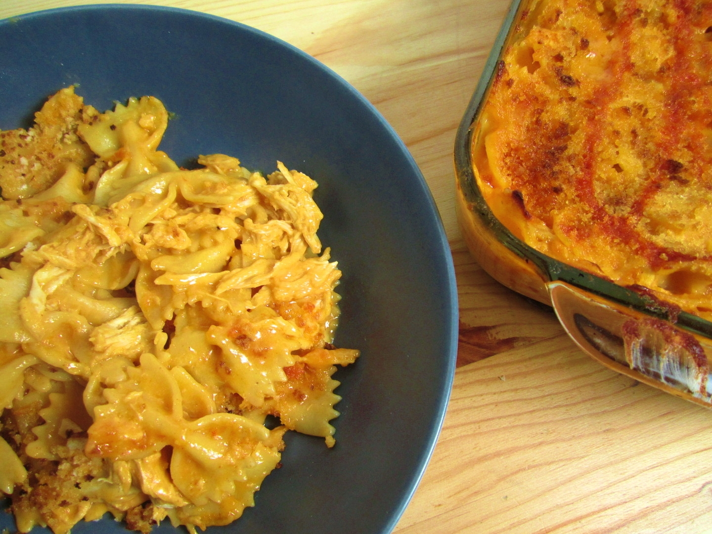 Buffalo Chicken Mac and Cheese - Eat. Drink. Love.
