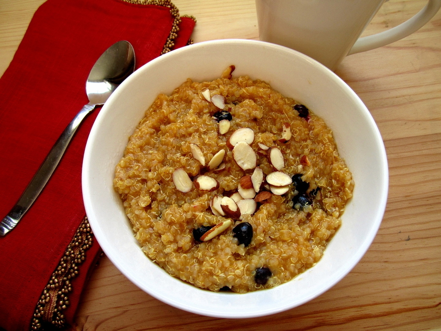 Pumpkin Breakfast Quinoa - Eat. Drink. Love.